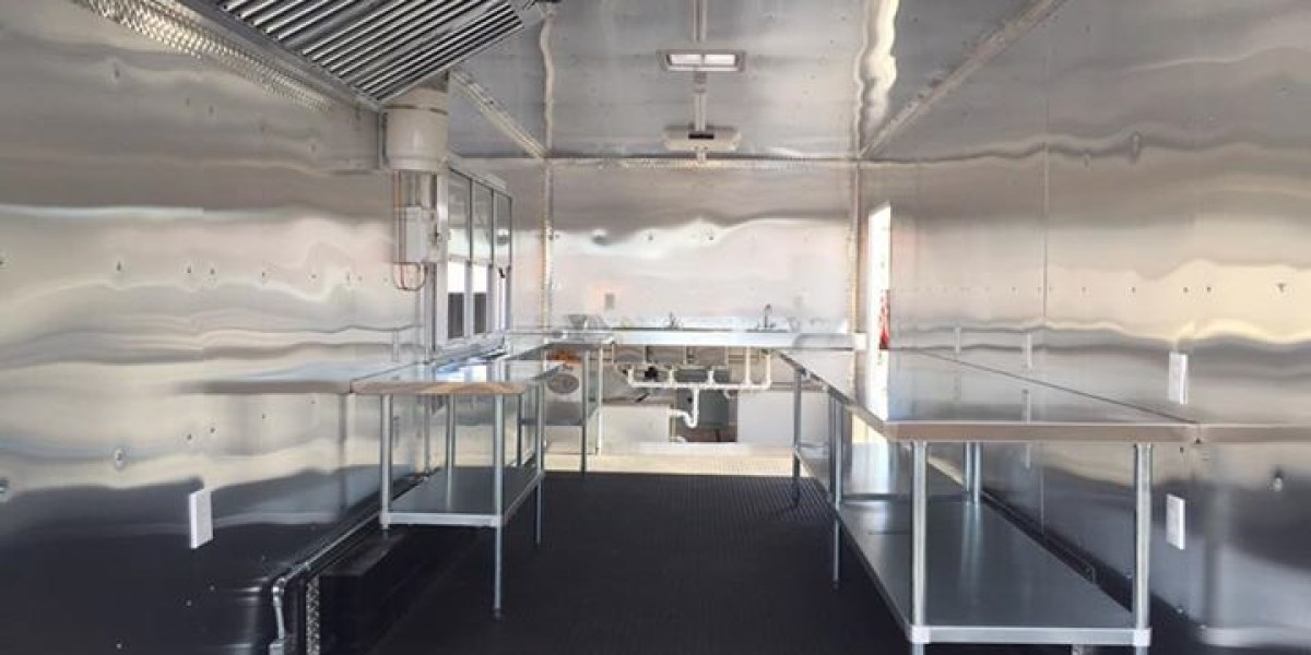 Inside of a New Food Truck