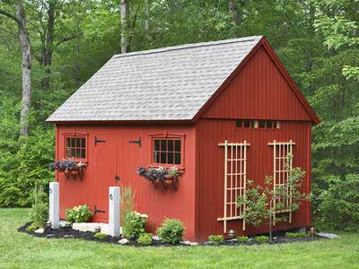 Garden Sheds Custom Crafted