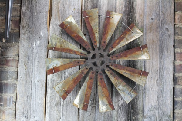 Windmill Rustic Metal Letters & Wall Art