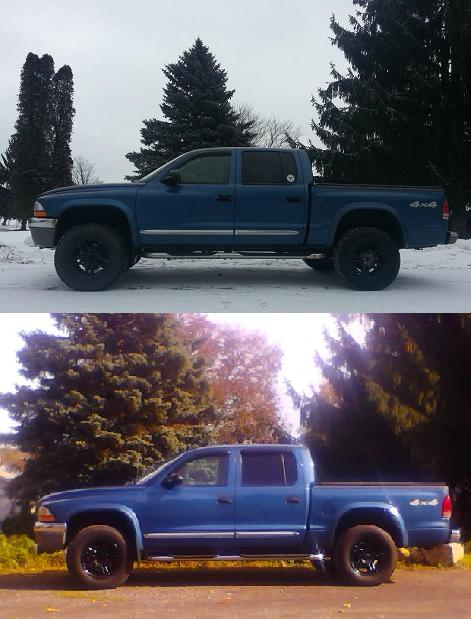 Lift Kit Before And After : before, after, Before, After, Pics-Leveling, Dodge, Dakota, Forums