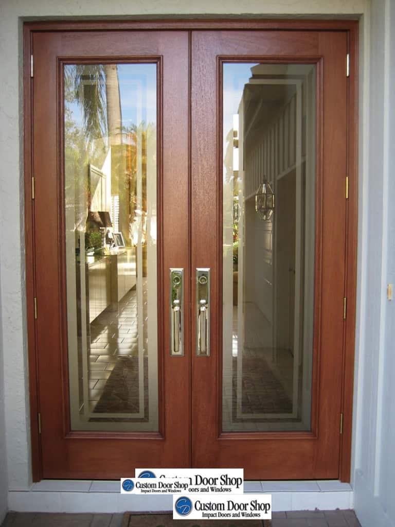 Custom Door Shop  Etched Glass Doors