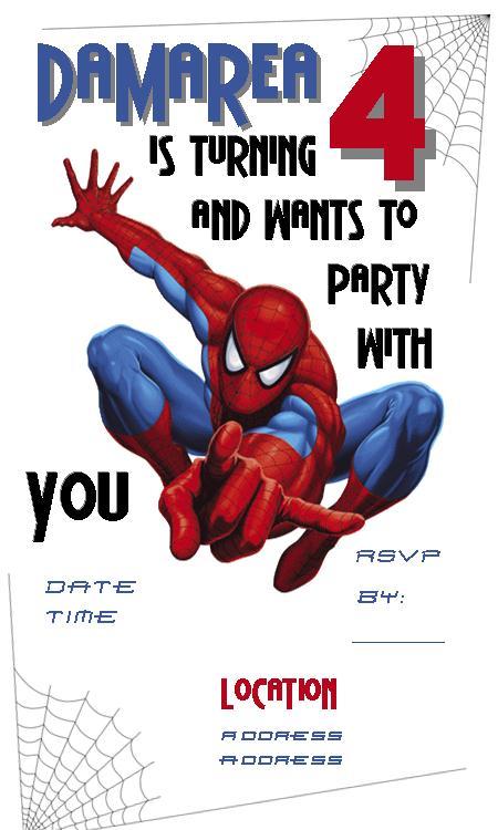 birthday invite template word