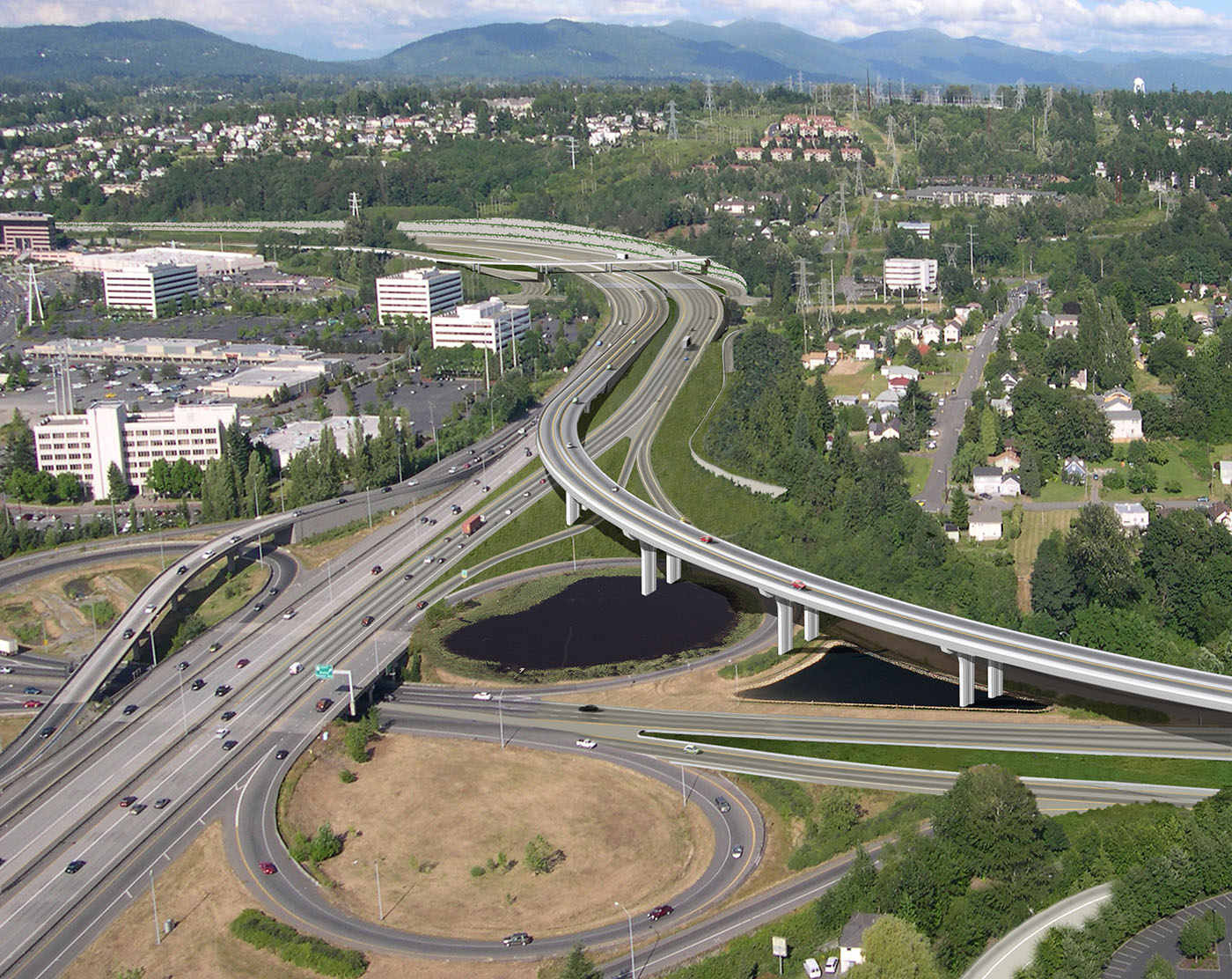 Seattle DJCcom local business news and data  Construction  Atkinson to build 116M flyover