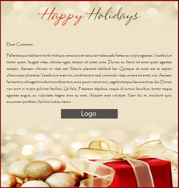 Sending Christmas Emails Outlook Free Templates