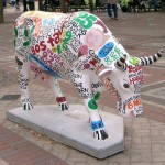 Colourful Bull