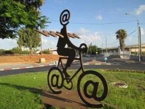 The Internet Messenger by Buky Shwartz