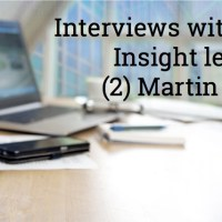 Audio interviews with Customer Insight Leaders: (2) Martin Squires
