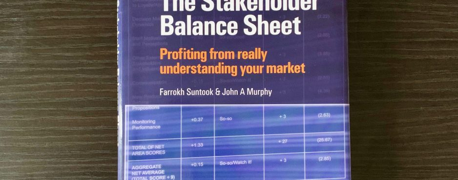 The Stakeholder Balance Sheet