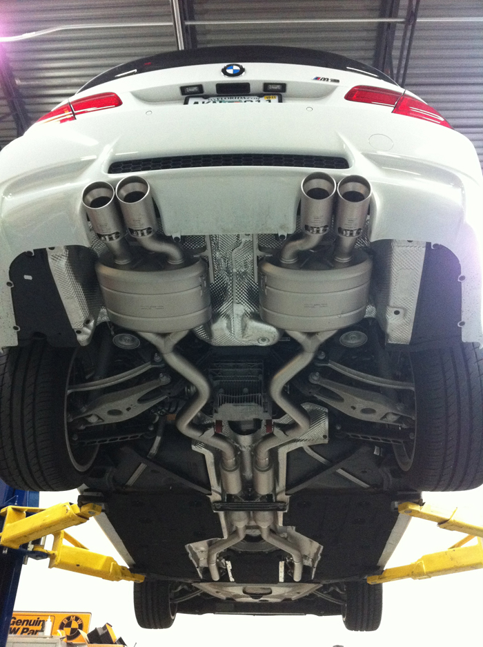 Akrapovic Evolution Exhaust for E92 M3 by PSI