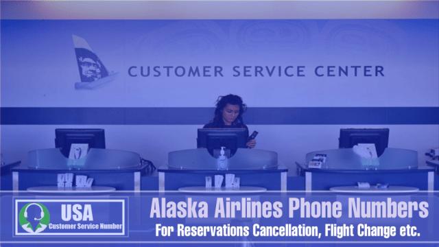 Alaska Airlines Phone Numbers