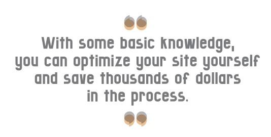 Optimize your site & save money