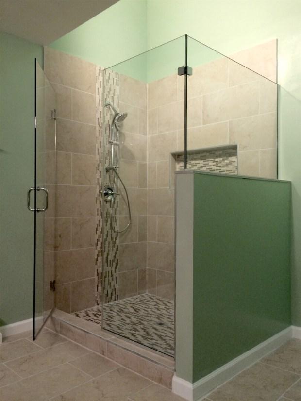 Corner Shower Enclosures Glass - Home Design Ideas