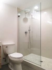 Splashguard Shower Doors and Fixed Panels