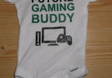 Future Gaming Buddy Custom Onesie