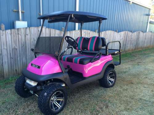 small resolution of pink club car precedent golf cart custom golf carts columbia sales services