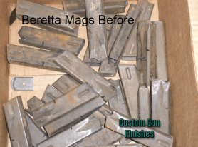 Beretta Magazines – Refinish in DuraCoat