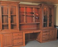 Custom Gun Cabinets | GunSafe - Amish Custom Gun Cabinets