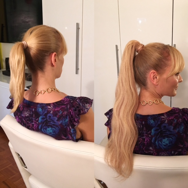 Ponytail Hair Extensions Custom Hair By Catherine