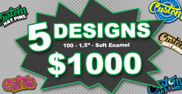 5 designs for $1000 deal