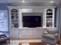entertainment center - Custom Home Finish