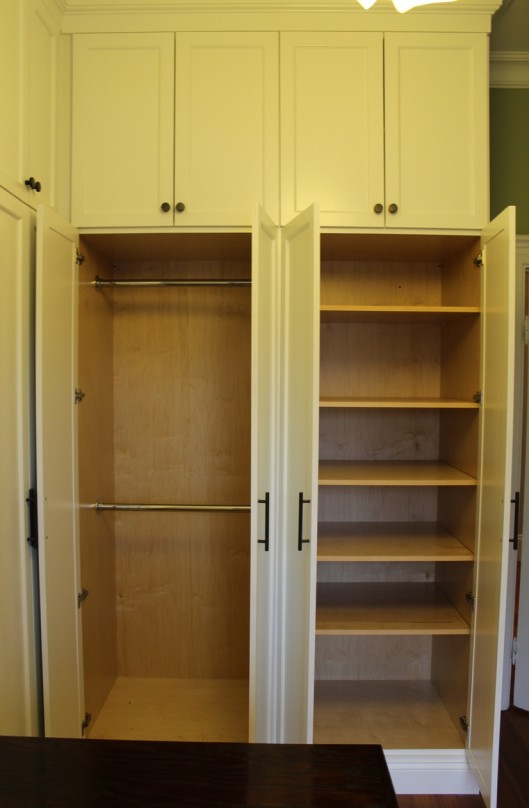 Closet Built Ins Pole Amp Shelving Custom Home Finish