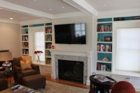 Fireplace Mantle and Window Seat Built Ins - Custom Home ...