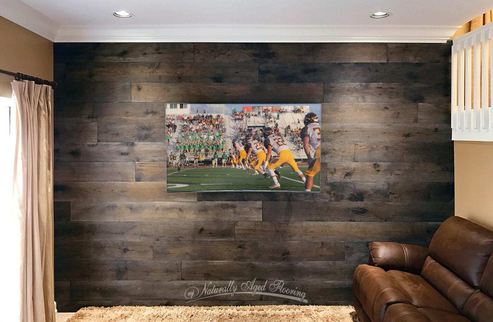 Hardwood Flooring On The Wall Custom Home Interiors