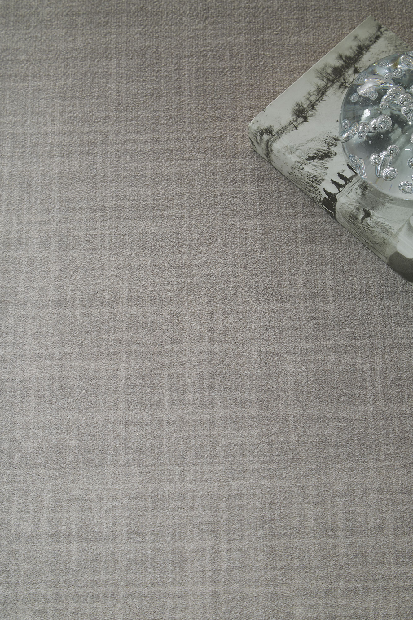 Brushed Linen Patterned Carpet