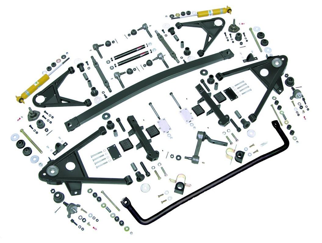 c4 corvette suspension diagram philips advance blender 1963 1982 performance plus kit front