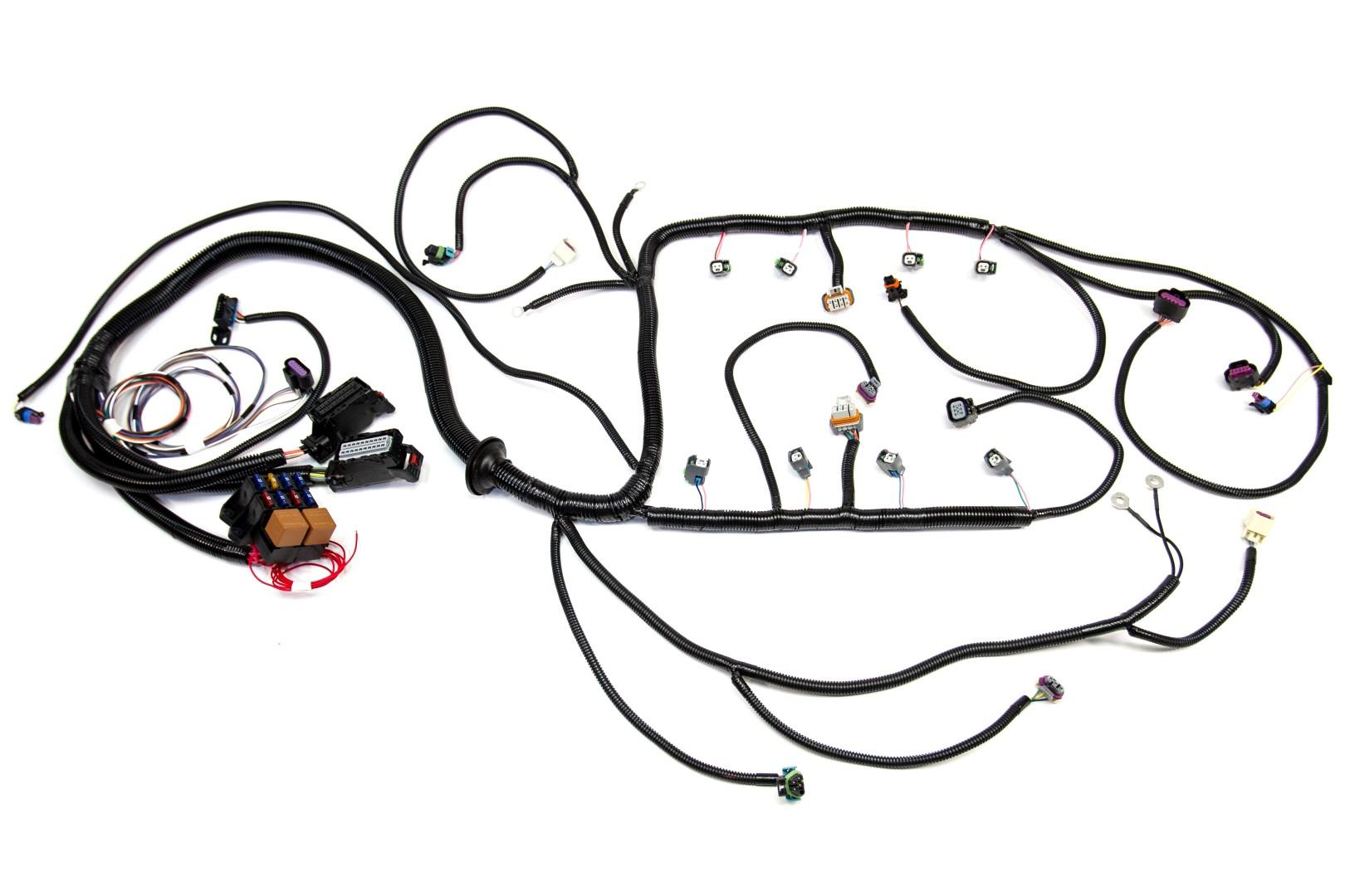 c3 corvette complete wiring harness