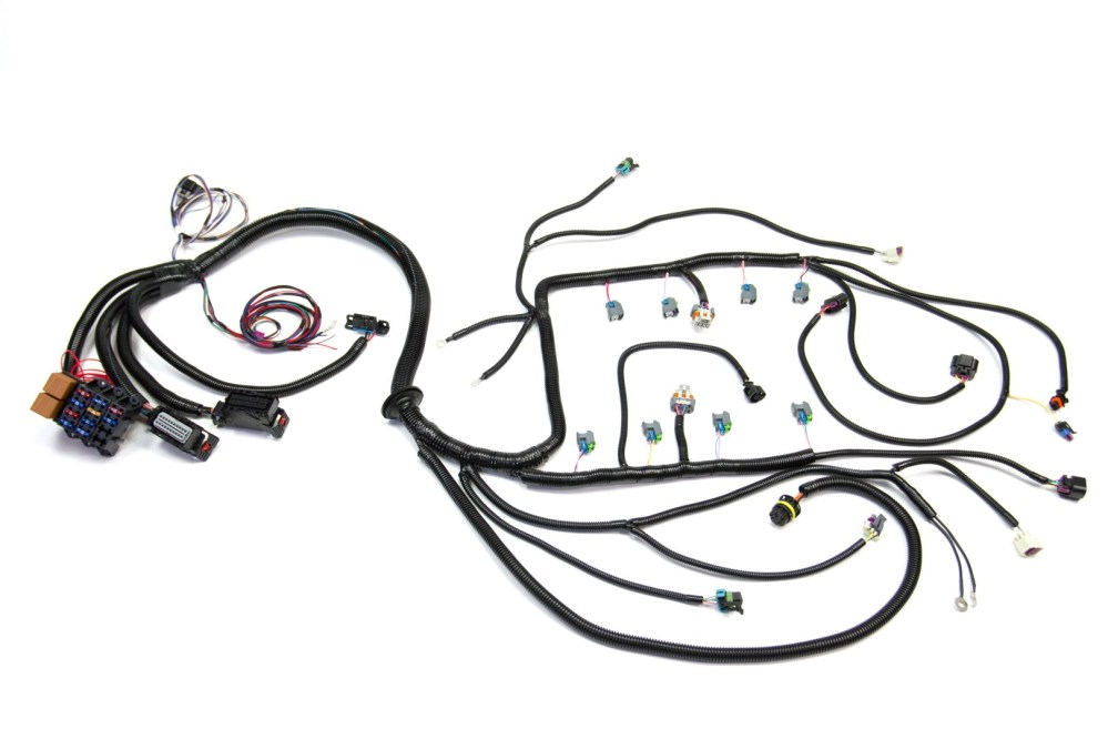 medium resolution of 08 13 ls3 6 2l standalone wiring harness w 6l80e custom image ls1 corvette engine wiring harness