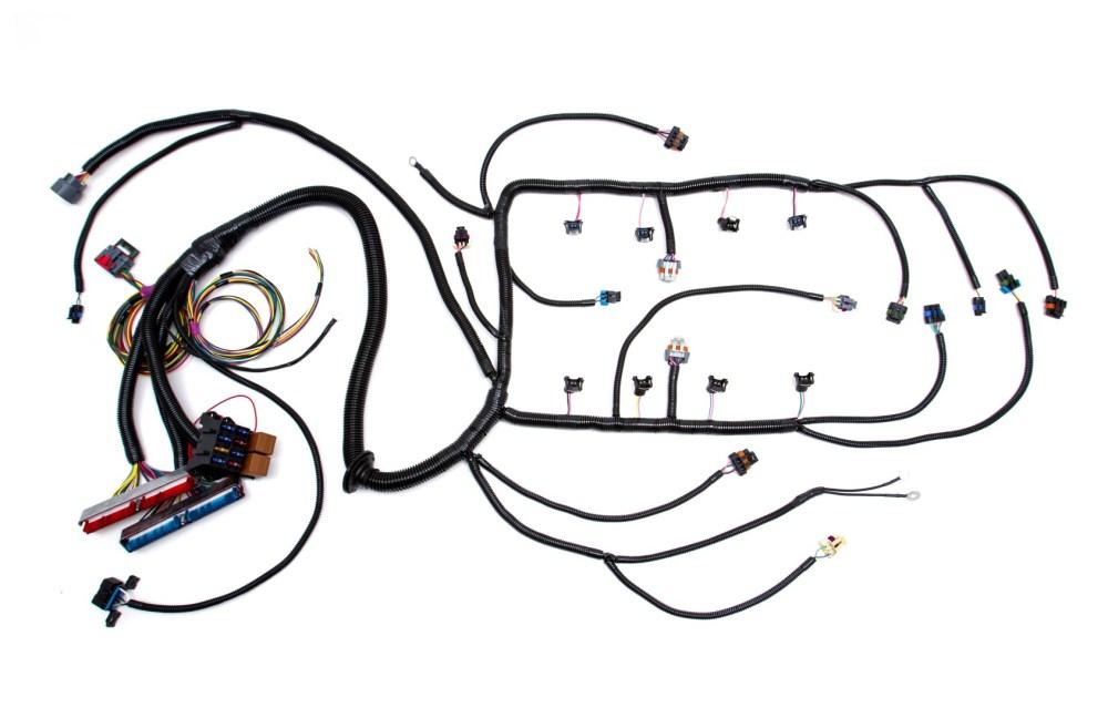 medium resolution of 97 04 ls1 w 4l60e standalone wiring harness dbw custom image stock ls1 harness custom ls1 wiring harness