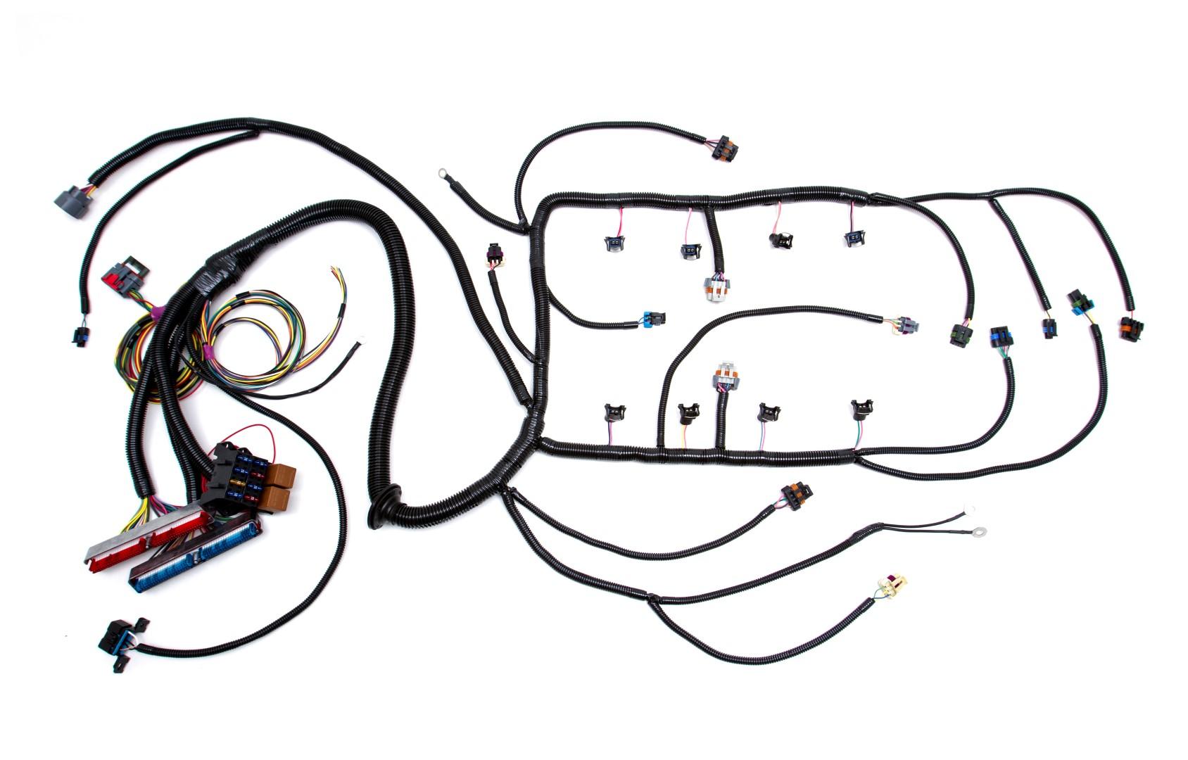 hight resolution of 97 04 ls1 w 4l60e standalone wiring harness dbw custom image stock ls1 harness custom ls1 wiring harness