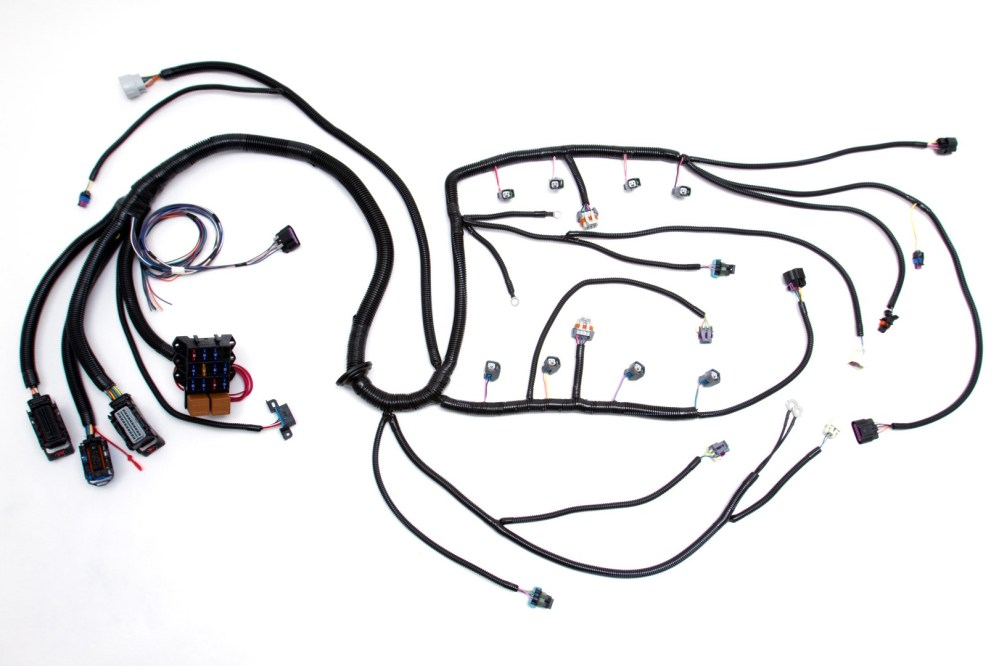 medium resolution of  05 07 ls2 6 0l 58x standalone wiring harness w 4l60e