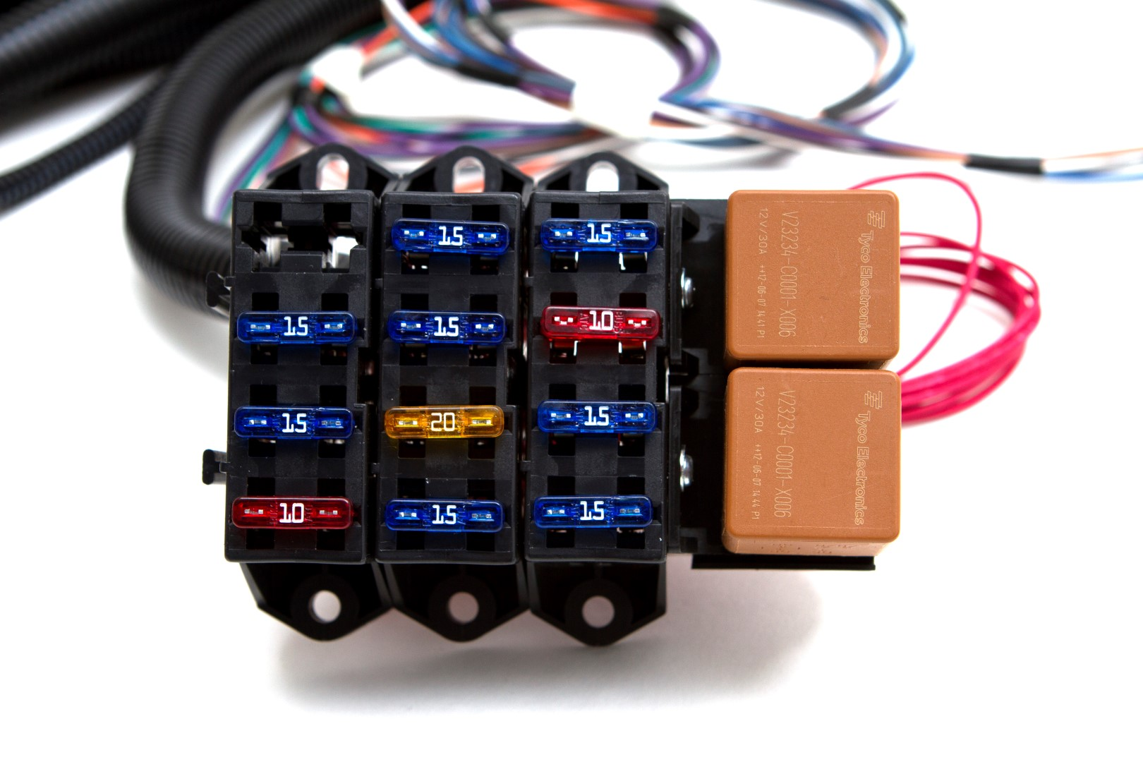 12v 30a relay 4 pin wiring diagram 1998 honda crv fuse box alternator toyskids co 08 13 ls3 6 2l standalone harness w 4l60e trailer gm