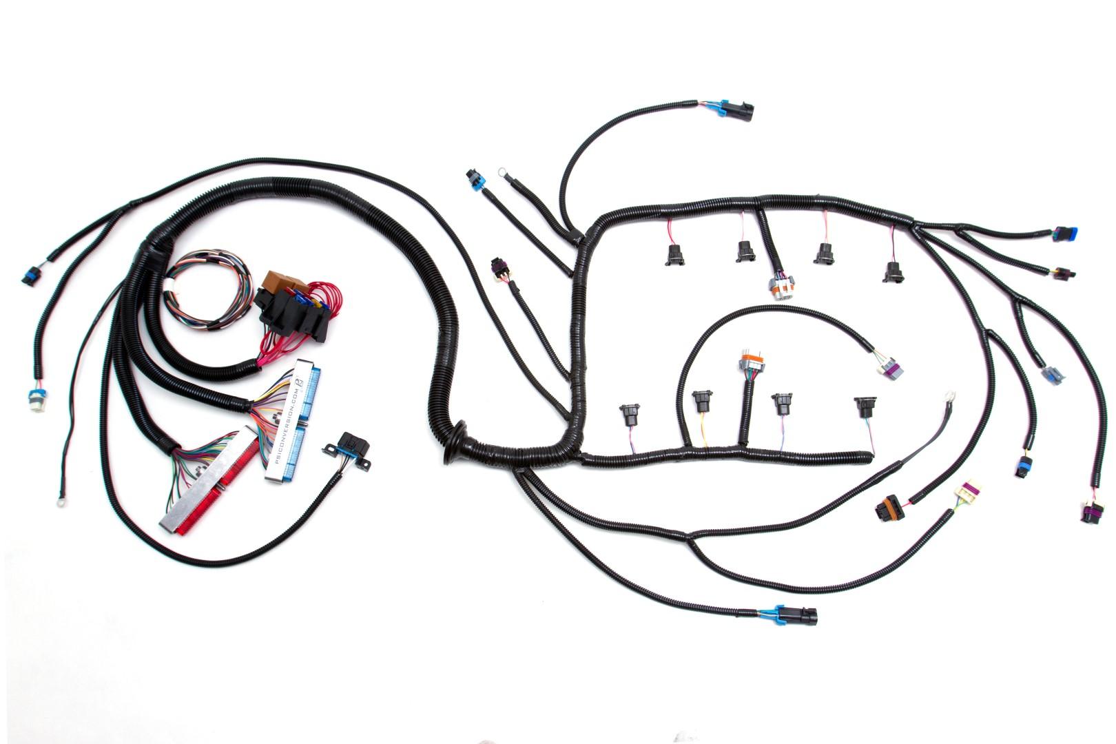 custom built wiring harness