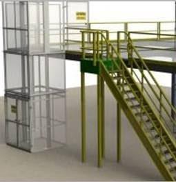 CIP mezzanine with a VRC Lift