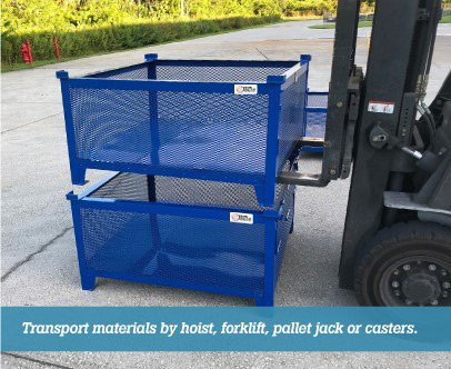 Material baskets from CIP