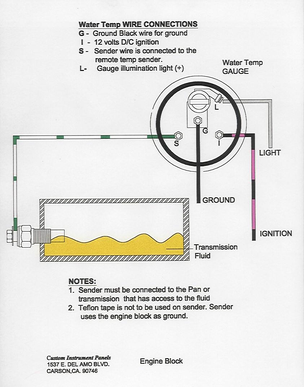 Vdo Air Temperature Wiring Diagram Senders Diagrams