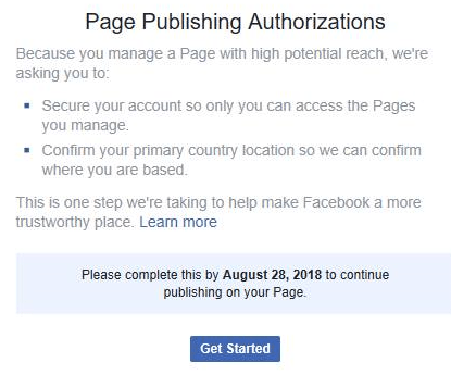 Dallas Fort Worth Arlington this is Facebook Page Publishing Authorization