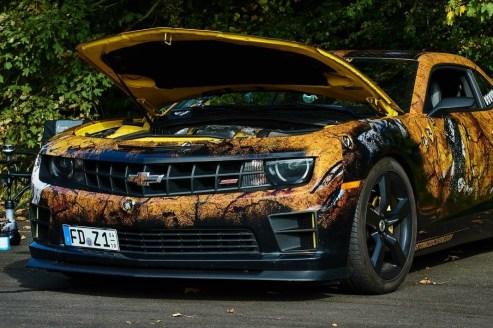 Chevrolet Camaro Design-Folie
