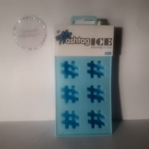 hashtag silicone ice-cube tray