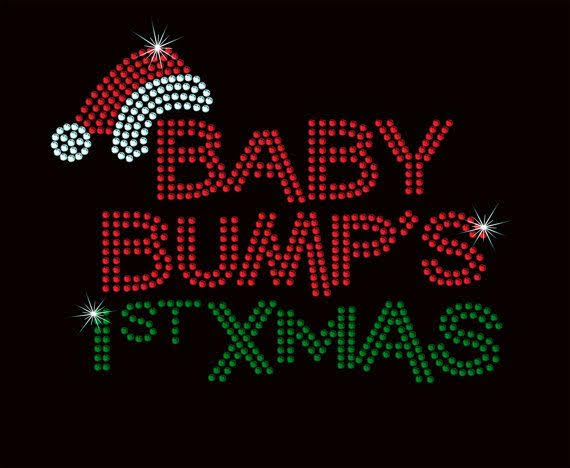 baby bumps first christmas transfer