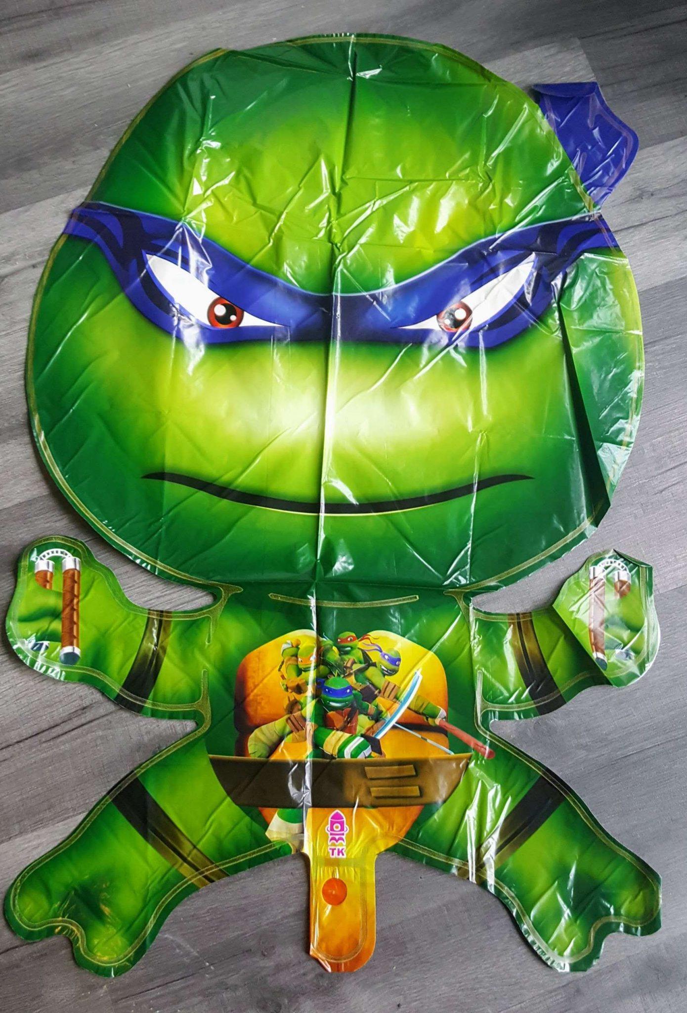 ninja turtle giant foil balloon