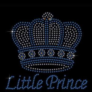 Little prince rhinestone transfer