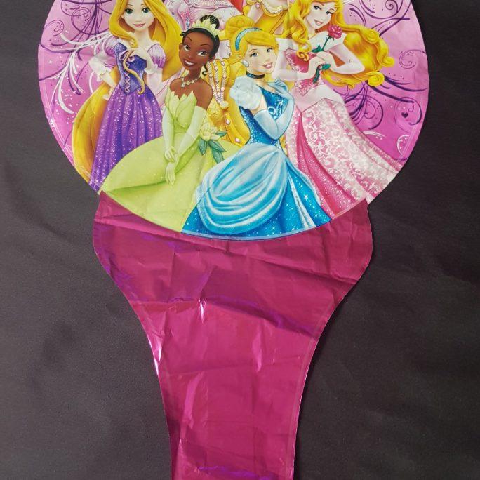 princess handheld baton foil balloon