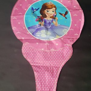 sofia the first princess handheld foil balloon