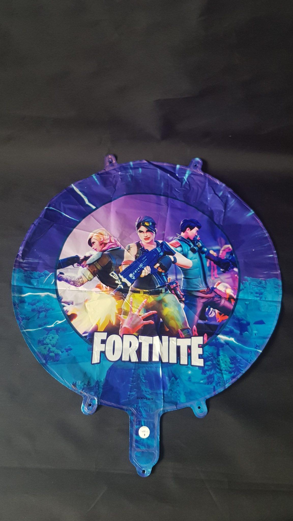 "fortnite 18"" round foil balloon"