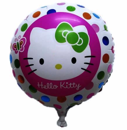 """hello kitty round 18"""" foil round balloon"""