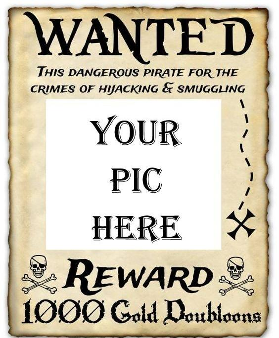 personalised wanted poster